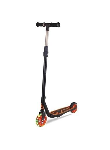 Furkan Toys Cool Wheels 2 Tekerlekli Turuncu Işıklı Çocuk Scooter +5 Yaş Renkli
